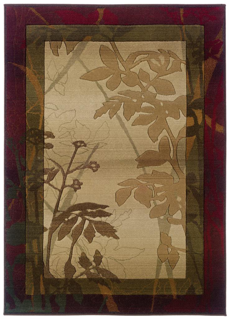 Oriental Weavers Genesis GNS 5991C Beige / Red Rug