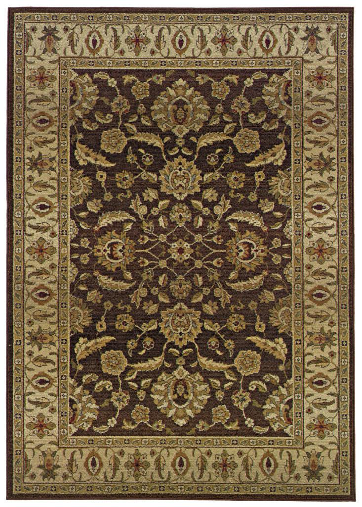 Oriental Weavers Genesis GNS 952M1 Brown / Beige Rug