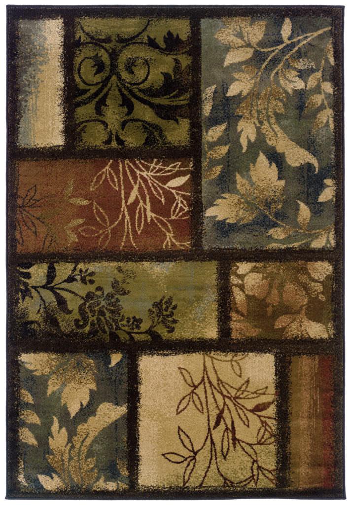 Oriental Weavers Hudson HUD 1699G Brown Rug