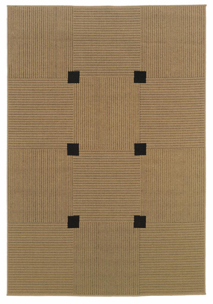 Oriental Weavers Lanai LAN 188X5 Beige / Black Rug
