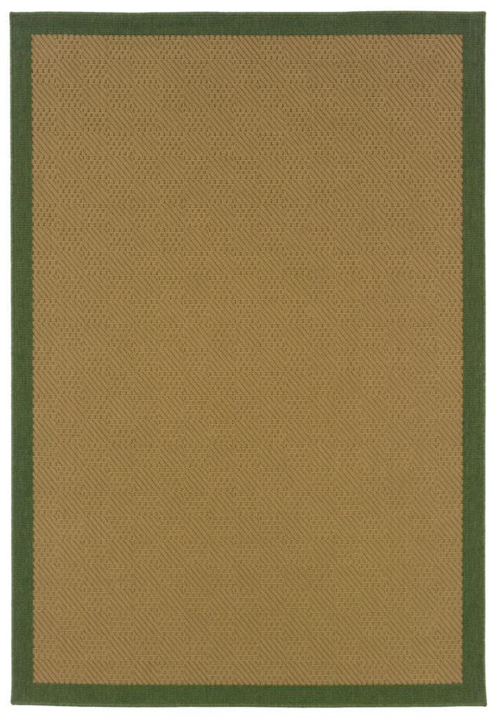 Oriental Weavers Lanai LAN 525G6 Beige / Green Rug