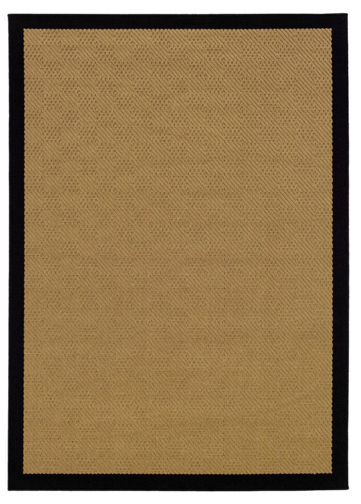 Oriental Weavers Lanai LAN 525X5 Beige / Black Rug