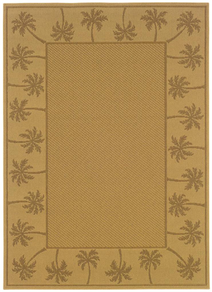 Oriental Weavers Lanai LAN 606D7 Beige / Tan Rug