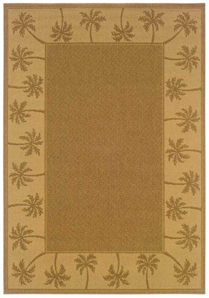 Oriental Weavers Lanai LAN 606M7 Tan / Beige Rug