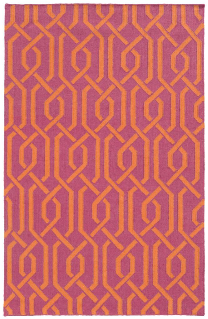 MAT 4260M Pink / Orange Rug