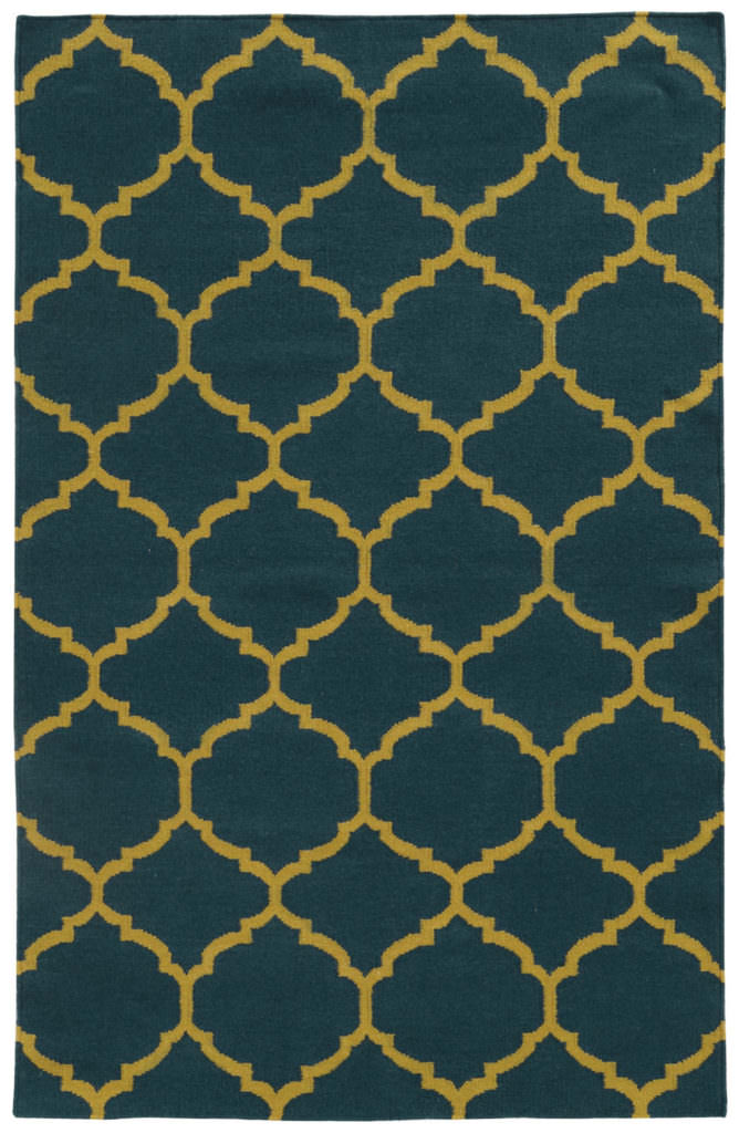 MAT 4280I Blue / Gold Rug