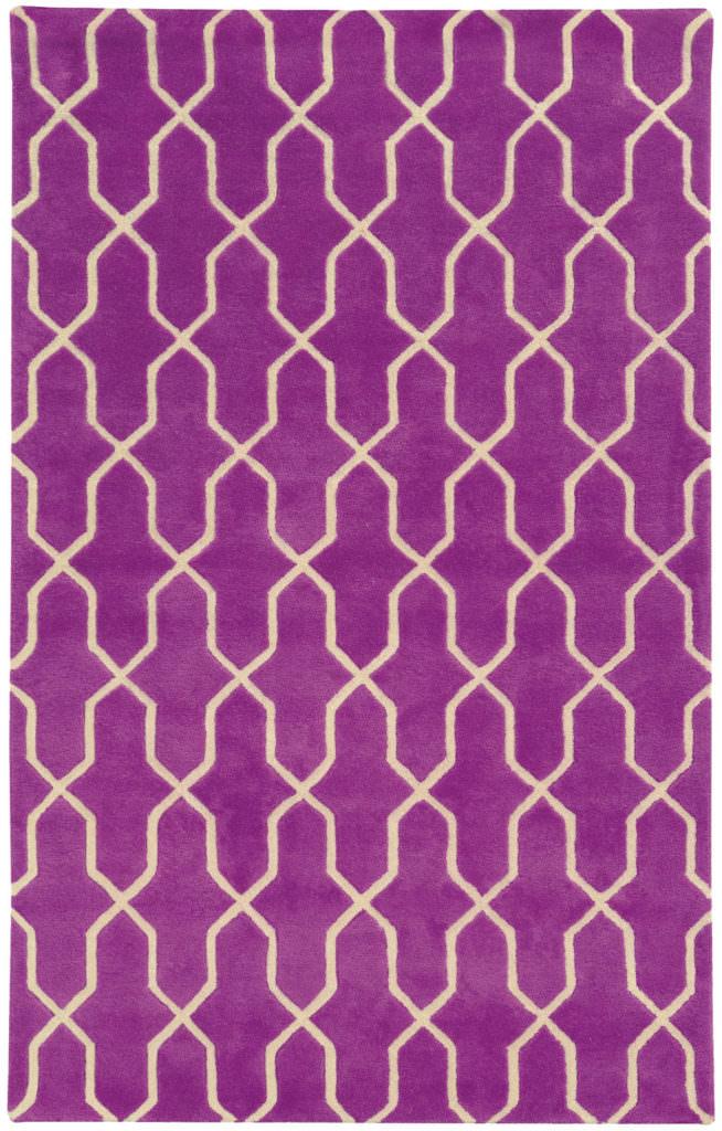 OPC 41101 Purple / Ivory Rug