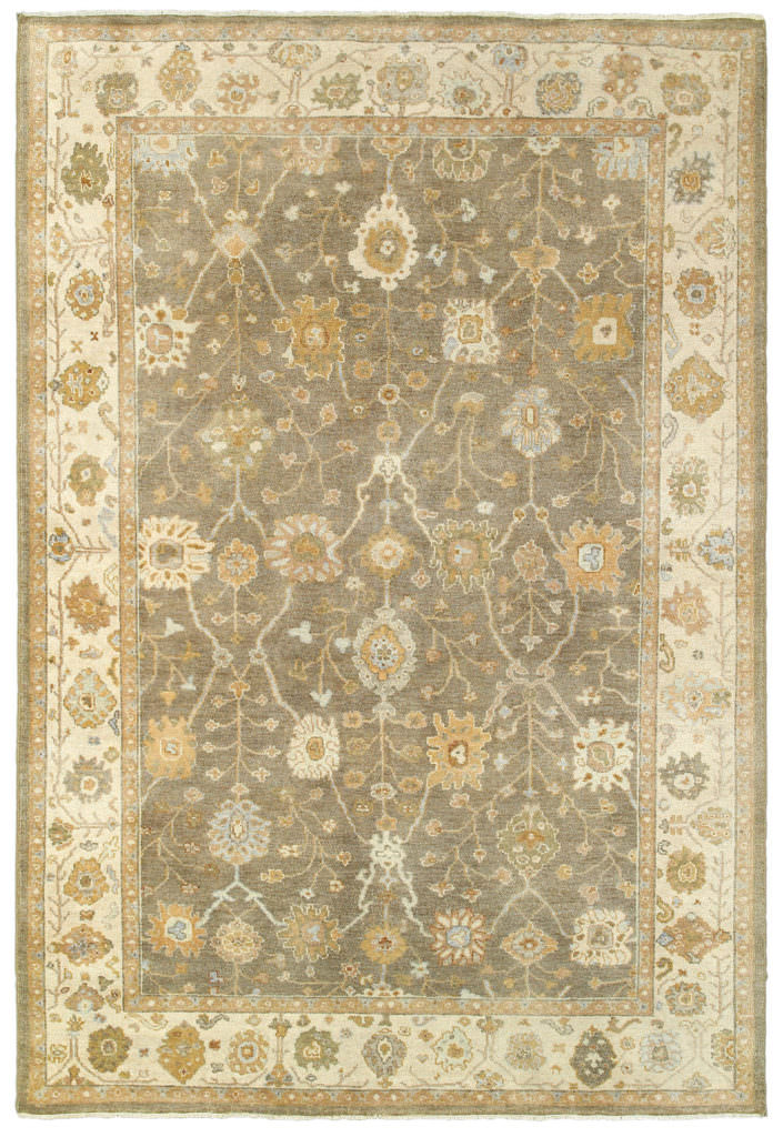Tommy Bahama Palace PLC 10302 Brown / Beige Rug