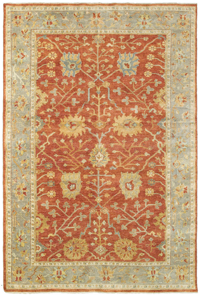 Tommy Bahama Palace PLC 10306 Red / Grey Rug