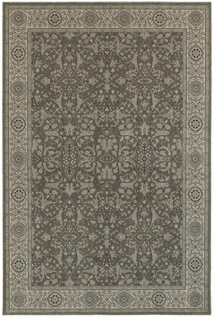 Oriental Weavers Richmond RIC 001E3 Grey / Ivory Rug