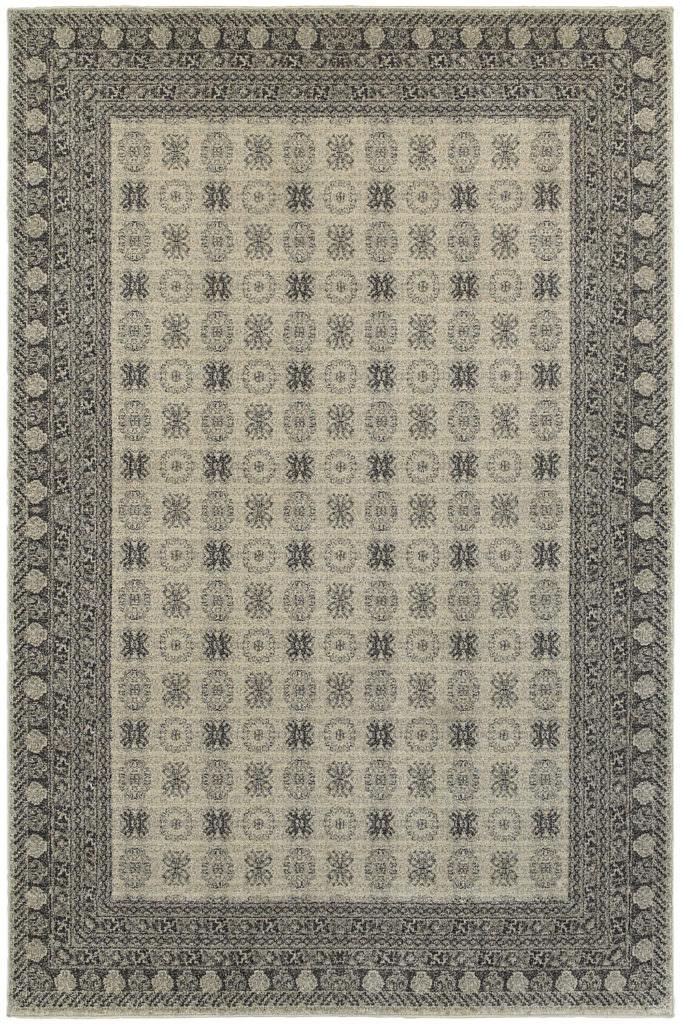 Oriental Weavers Richmond RIC 4440S Ivory / Grey Rug