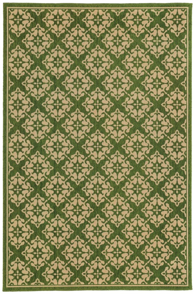 Tommy Bahama Seaside SES 1637G Green / Beige Rug