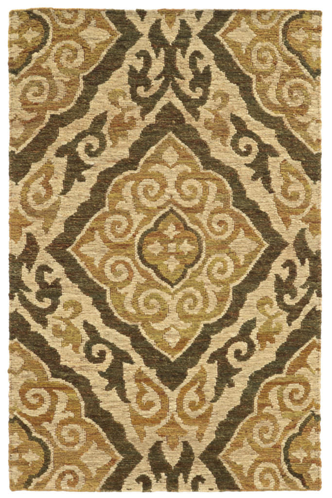 Tommy Bahama Valencia VLC 57705 Beige / Gold Rug