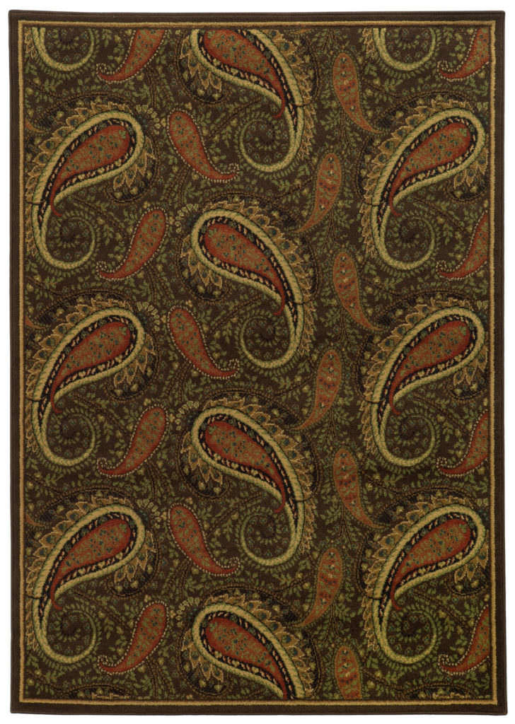 Tommy Bahama Villa VIL 5586D Brown / Green Rug