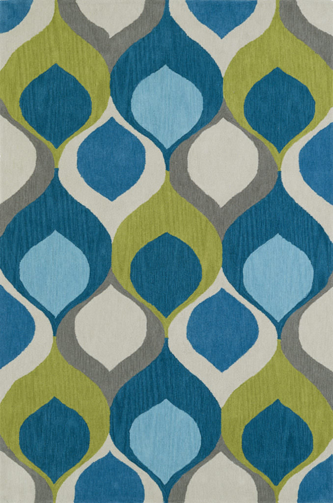 Dalyn Aloft AL14 Teal Rug