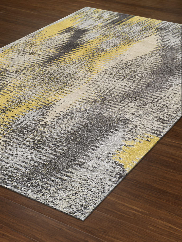 Dalyn Modern Greys MG531 Graphite Rug Floor View