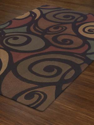 Dalyn Capri CA2061 Multi Rug Floor View