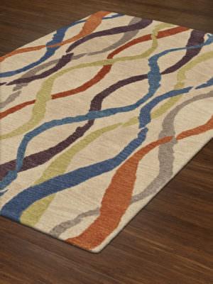Dalyn Impulse IS1 Linen Rug Floor View