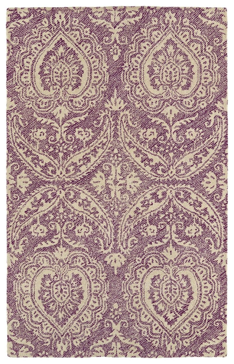 Kaleen Weathered WTR01-95 Purple Rug