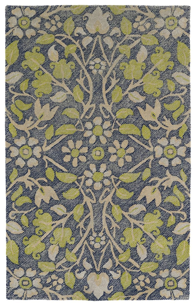 Kaleen Weathered WTR04-22 Navy Rug
