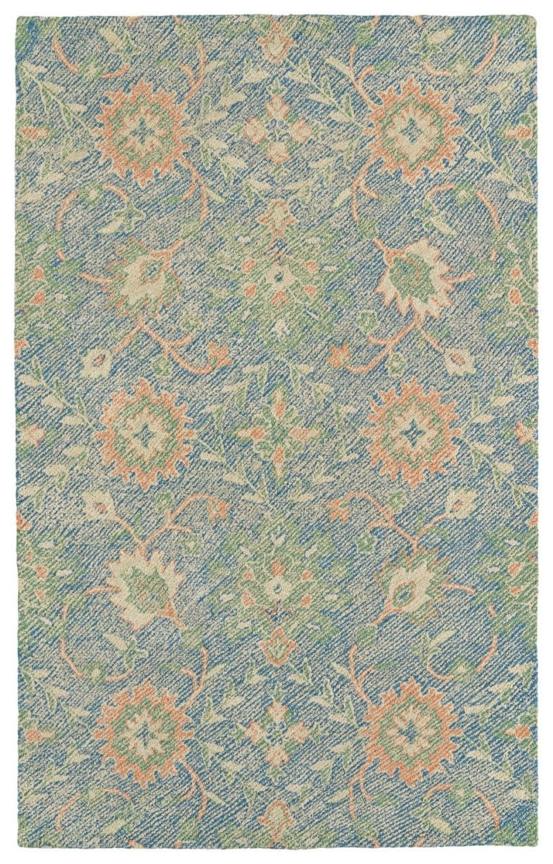 Kaleen Weathered WTR07-17 Blue Rug