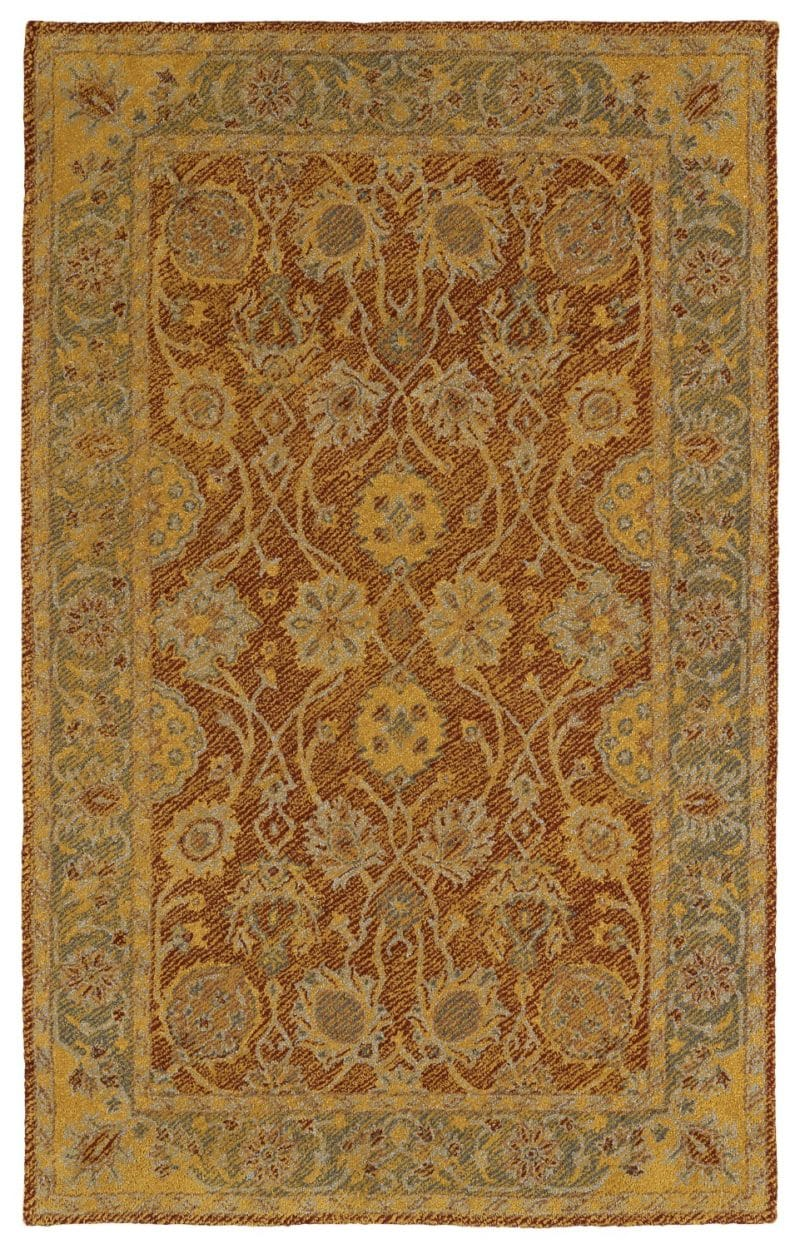 Kaleen Weathered WTR08-06 Brick Rug